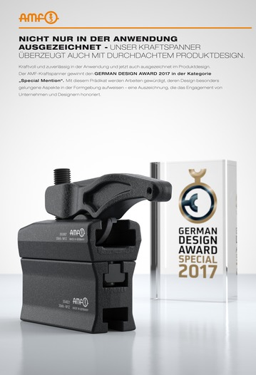 German Design Award Special 2017 -Winner