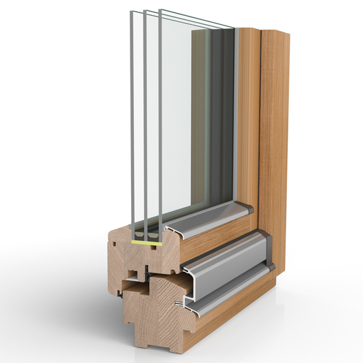 Holzfenster H90 (Bautiefe 90 mm)