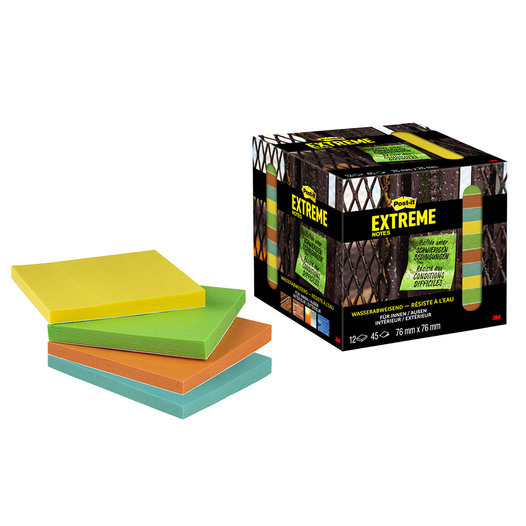 Post-it® Extreme Notes (12er Pack)