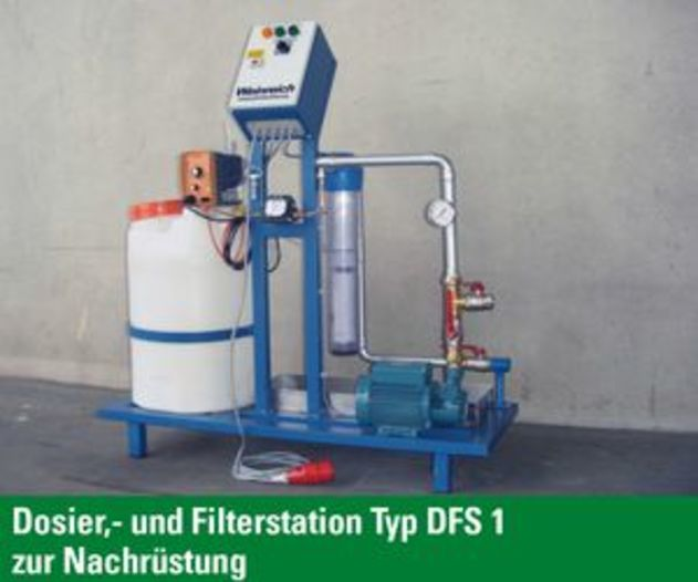 Sandfiltration, Typ SF500