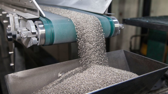 Metallgranulate und Metallpulver